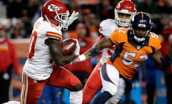 Broncos vs. Chiefs Betting Preview 12/25/16 – Sunday Night Football Odds