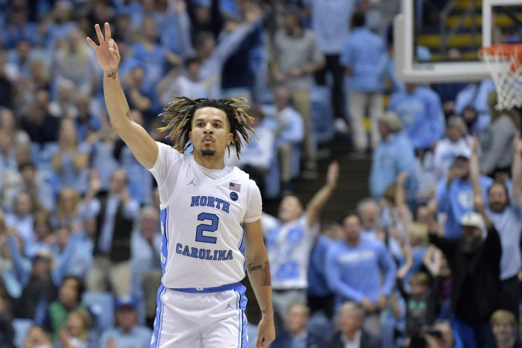 North Carolina Tar Heels vs Notre Dame Fighting Irish NCAAB Free Pick February 17, 2020